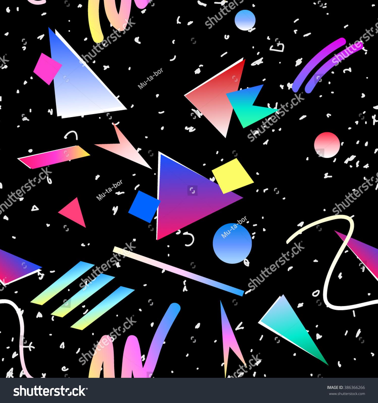 80s Pattern Interesting Decorating Ideas