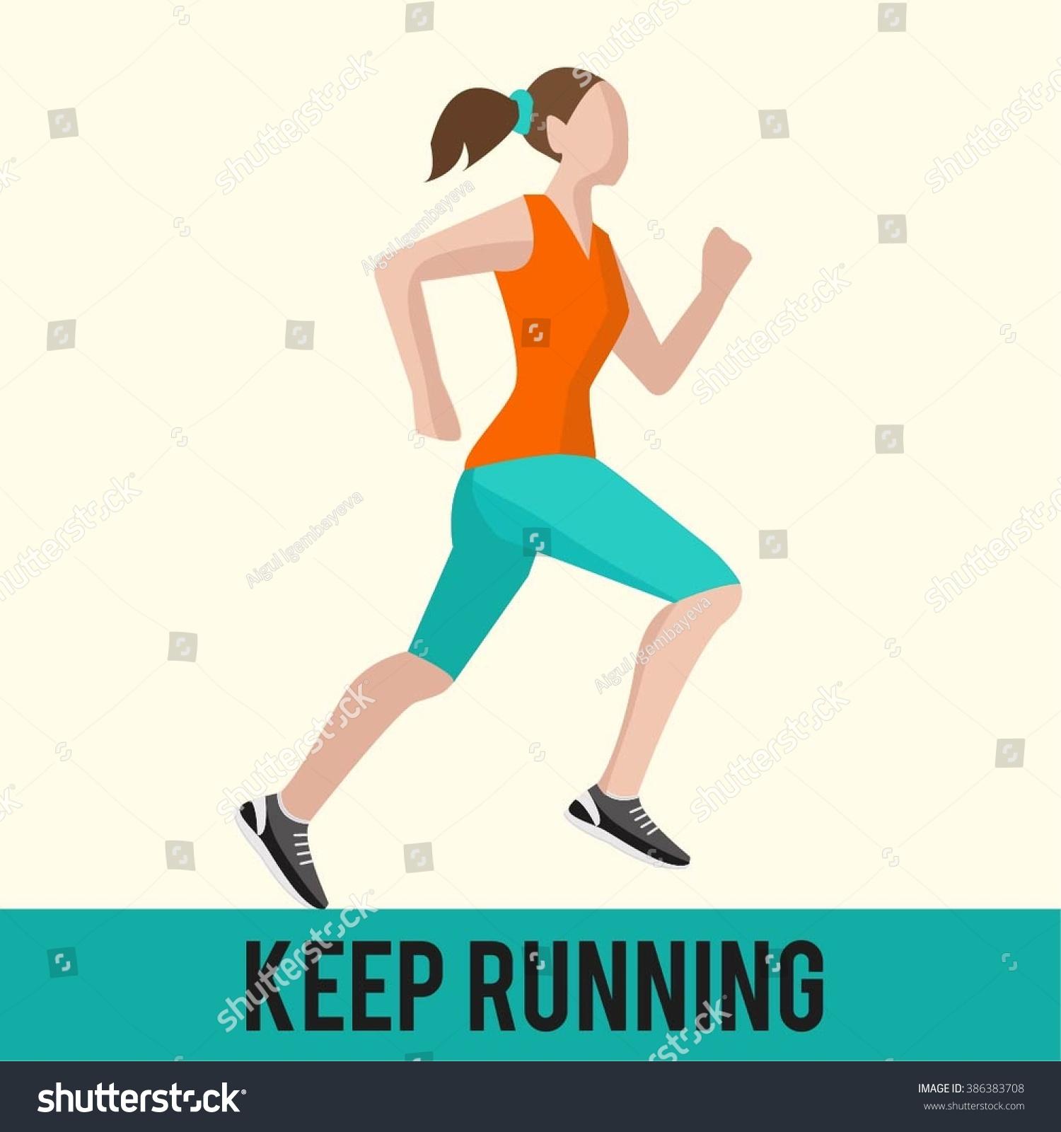 Keep Running Woman Run How To Run Faster Banner