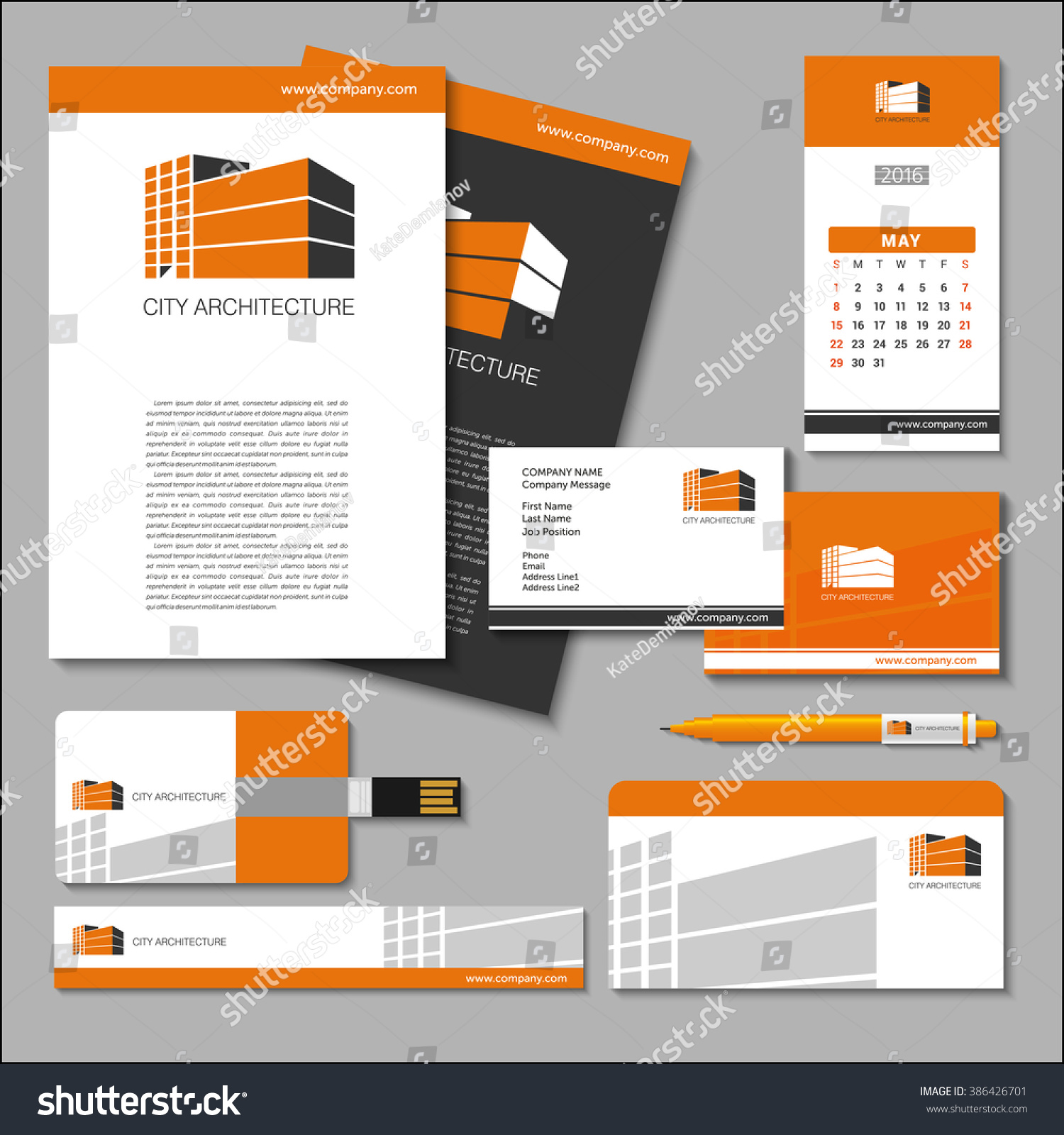Business Cards Flash Poster Banner Pen Stock Vector 386426701 ...