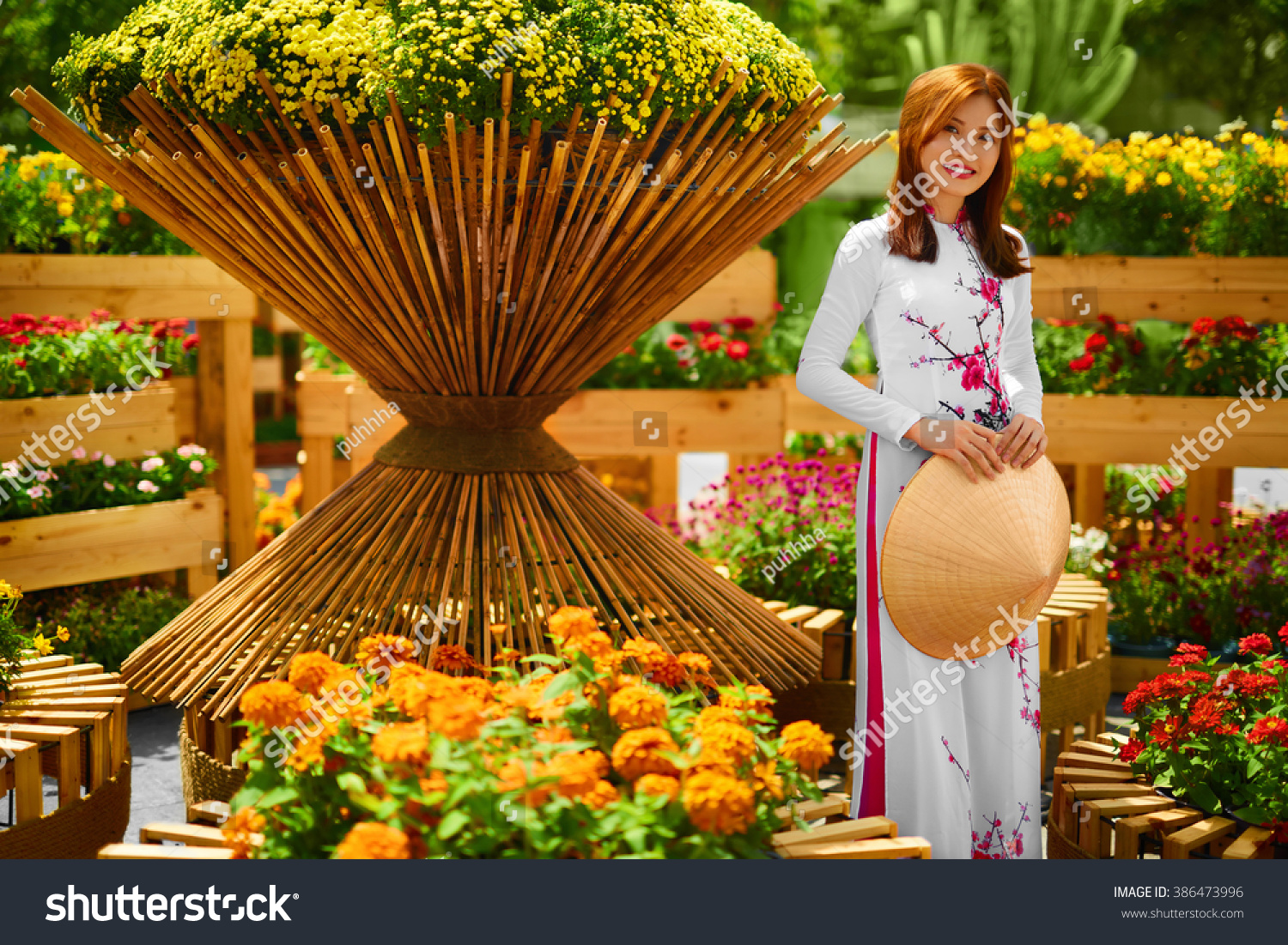 Royalty-free Culture Of Asia. Beautiful Happy… #386473996 Stock ...