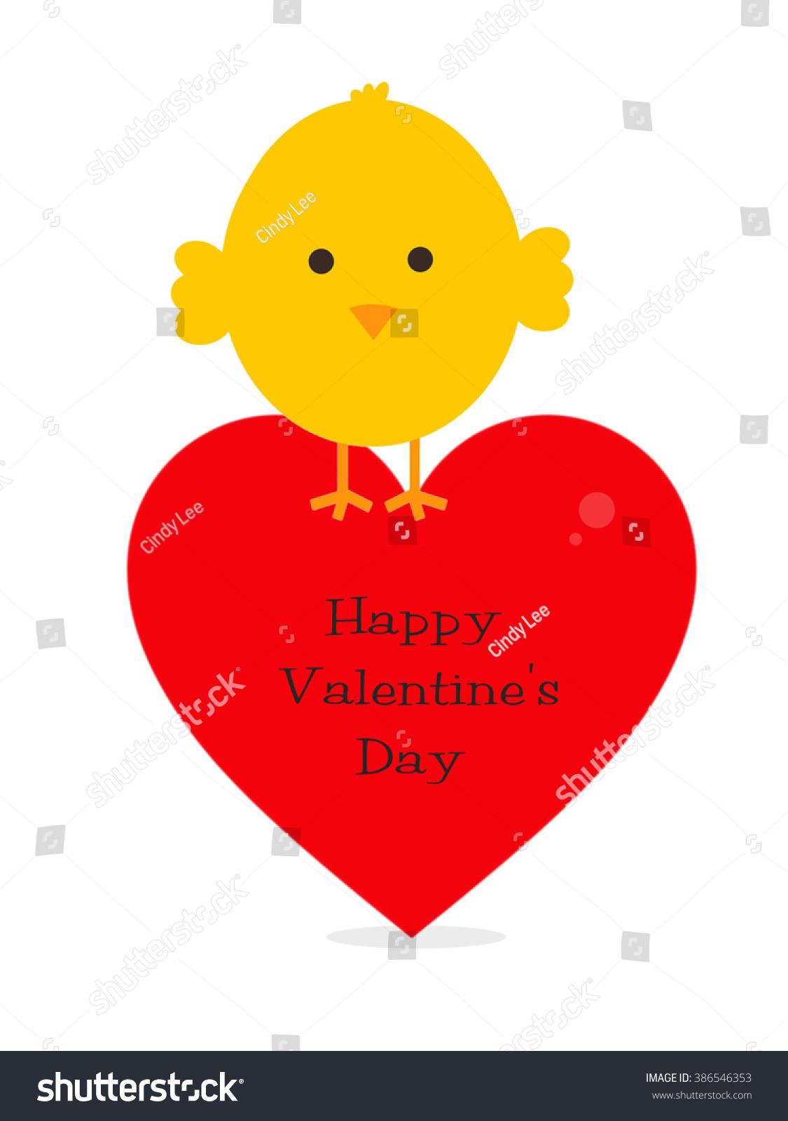 Baby Chick   Happy Valentineu0027s Day