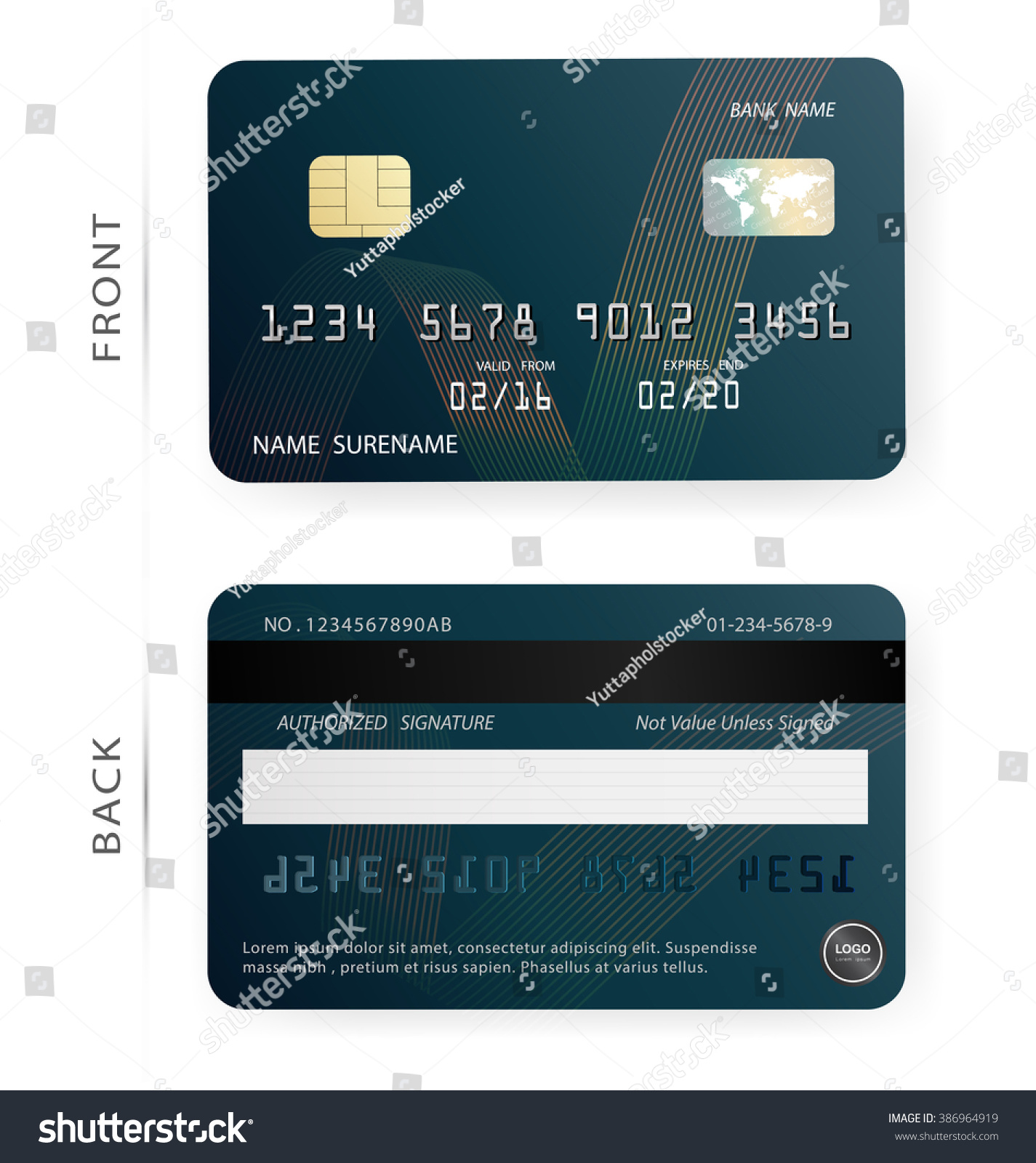 Awesome Collection Of Business Debit Card – Business Cards and Resume