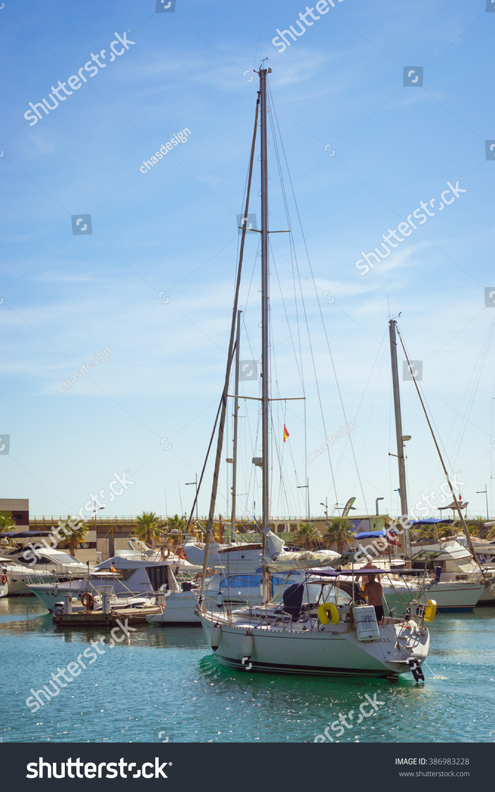 Torrevieja spain september 13 2014 puerto stock photo for Z yachting torrevieja