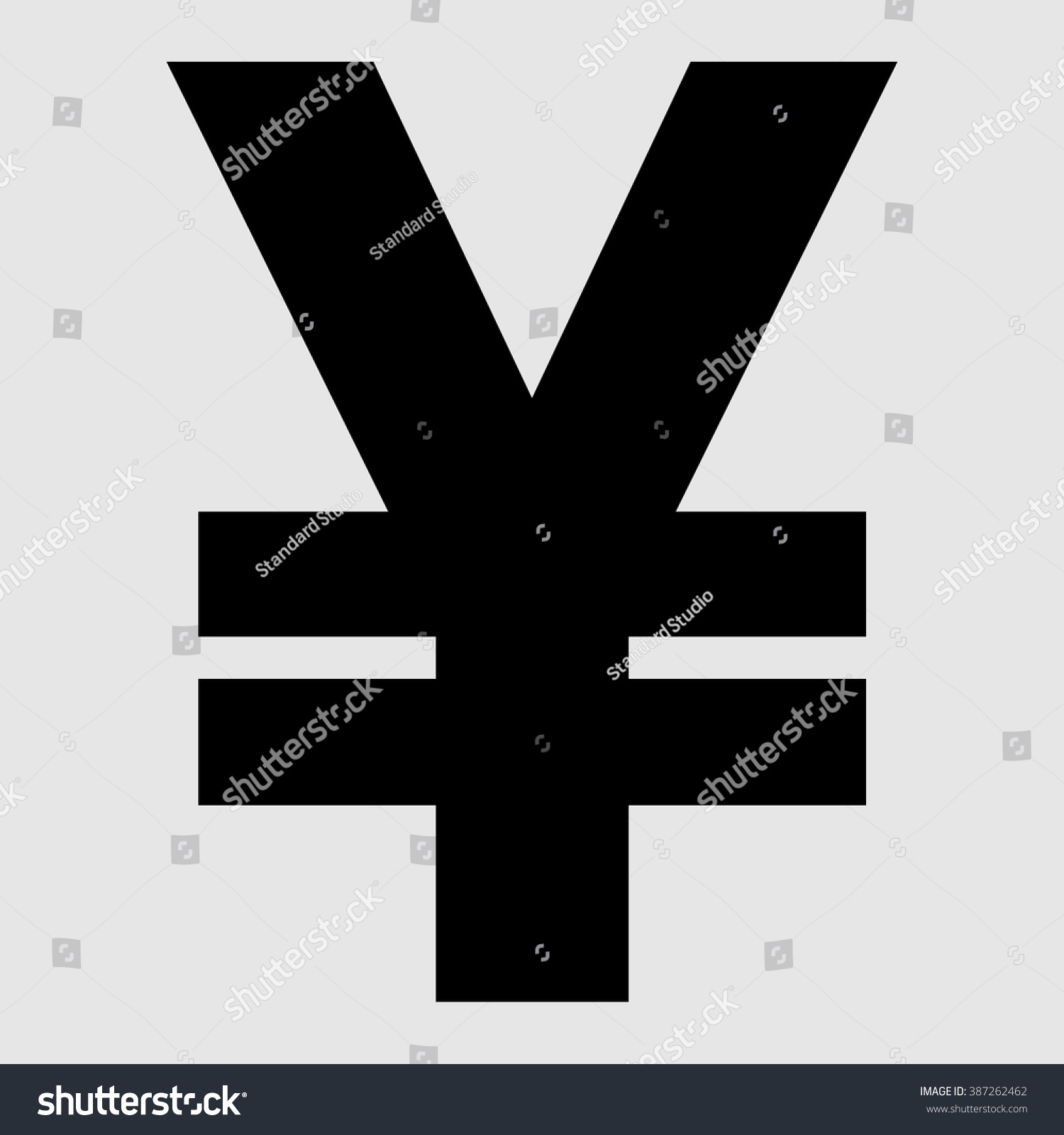 Chinese yuan icon cny currency symbol stock vector 387262462 chinese yuan icon cny currency symbol vector illustration buycottarizona Gallery