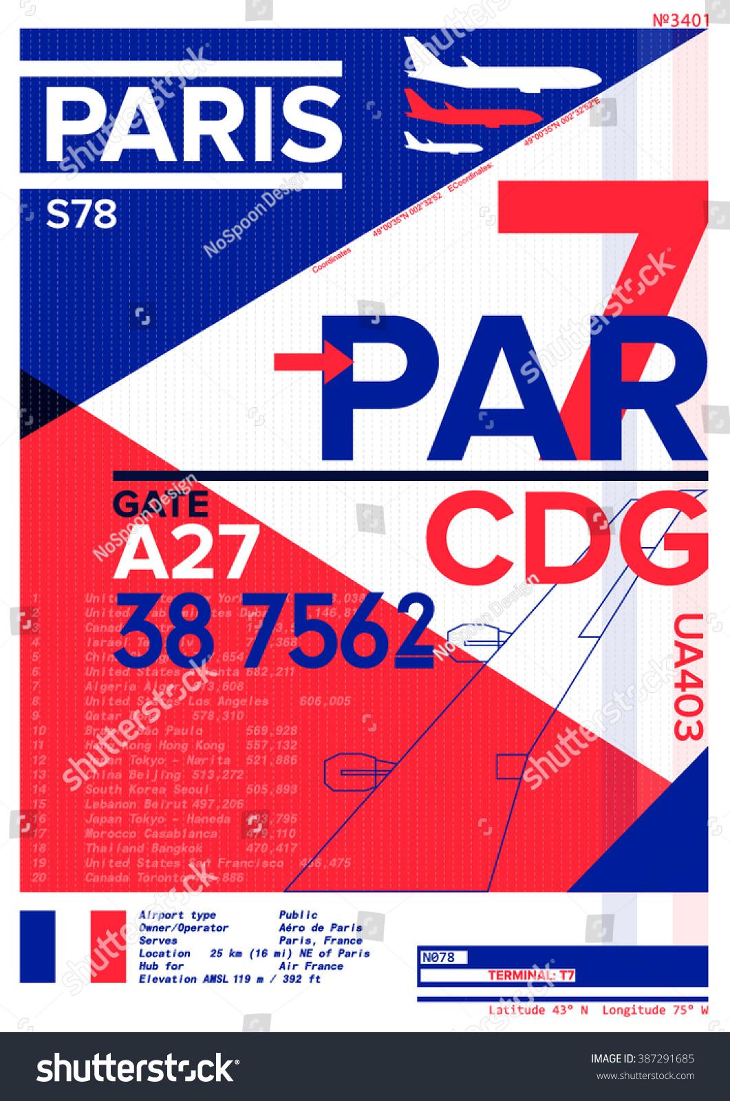 Shirt design toronto - Airport Departure And Arrival Sign At Paris Stock Vector Illustration T Shirt Design