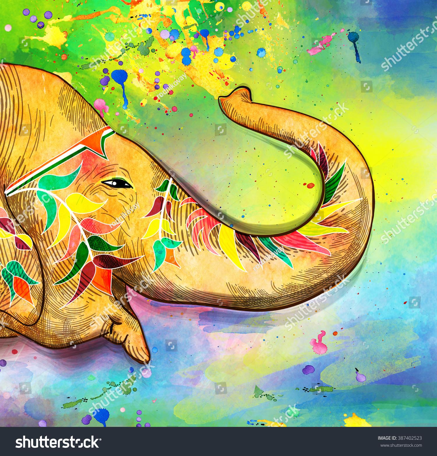 Traditional Indian Festival Holi. Bengali New Year.
