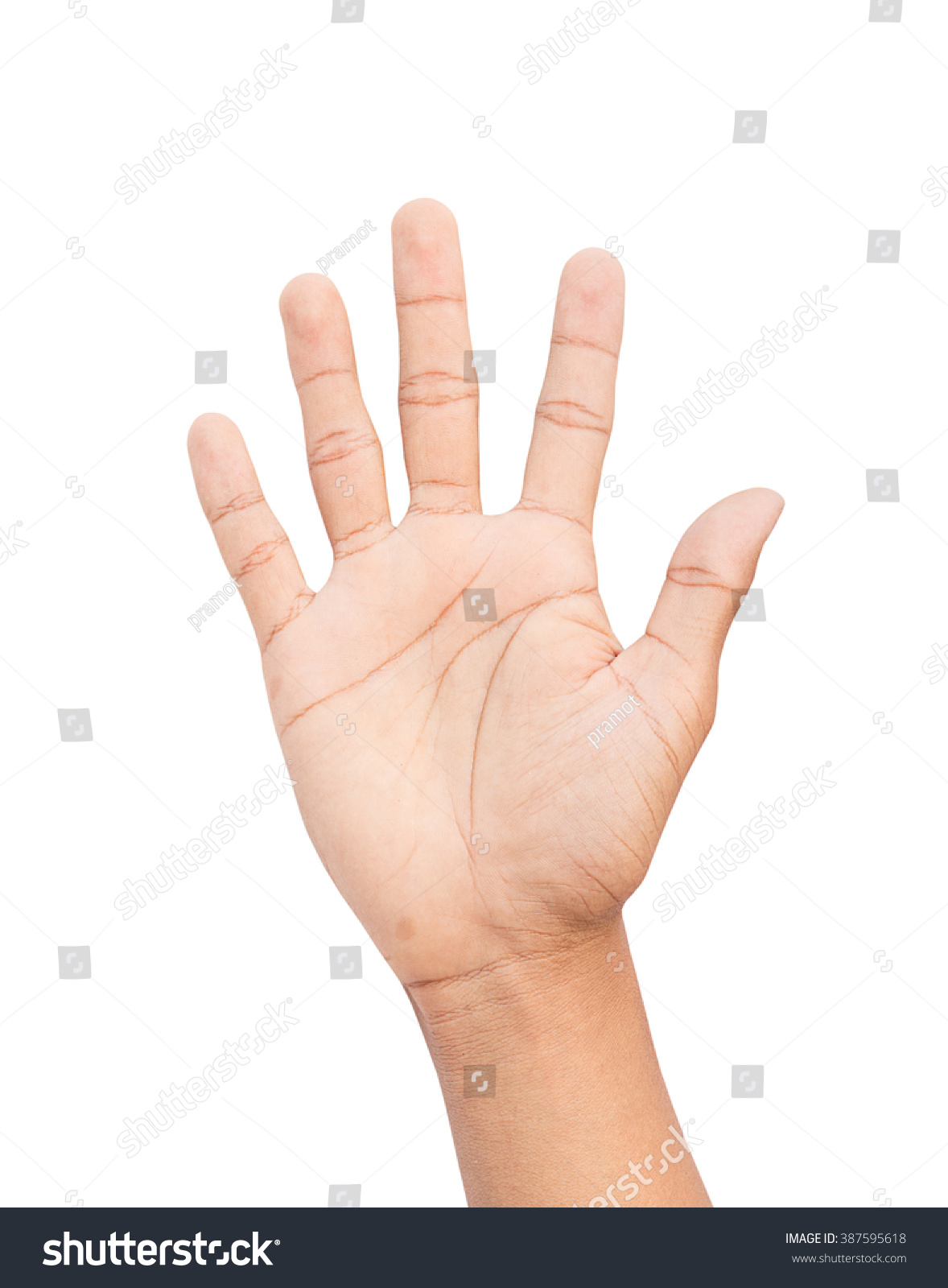 Symbol Sign Language Tell Symbol By Hand Clipping Path And