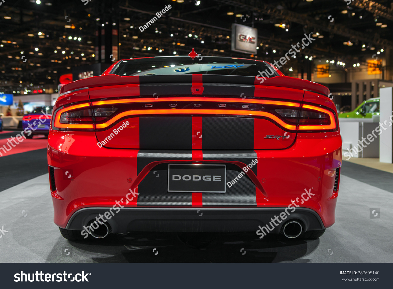 Chicago february 12 the 2017 dodge charger srt hellcat on display at the chicago