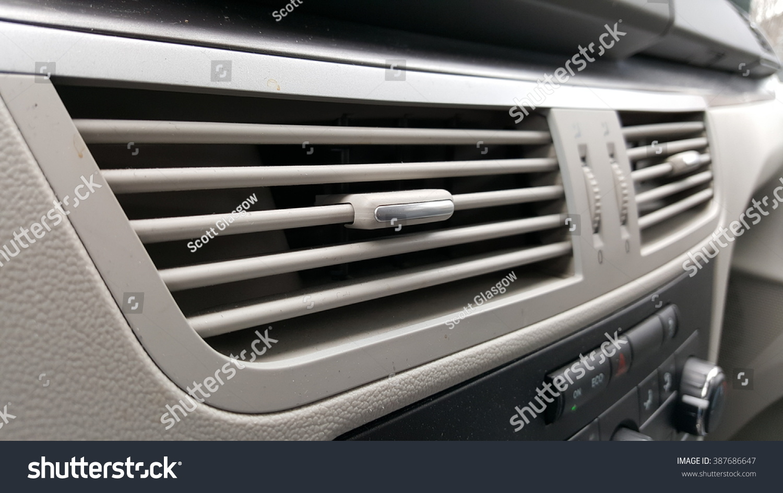 Car Dashboard Air Vents Stock Photo (Edit Now) 387686647