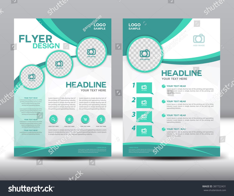 Royaltyfree Business brochure flyer design layout 387722431 – Sample Business Brochure