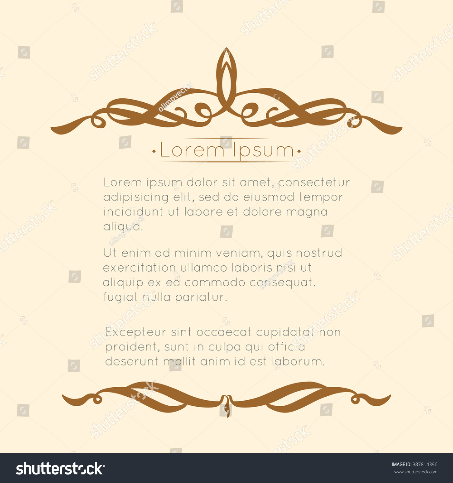Border designs greeting cards template design stock vector 387814396 border designs for greeting cards template design for invitation labels poem writing stopboris Image collections