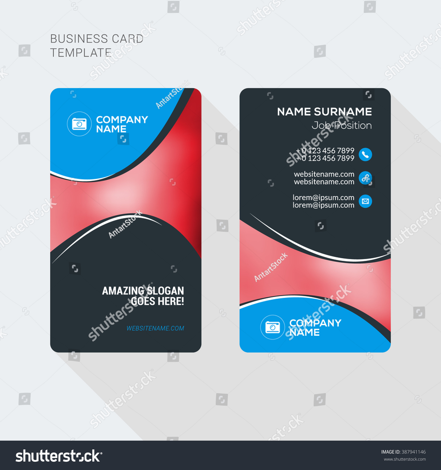 two sided business cards - Fieldstation.co