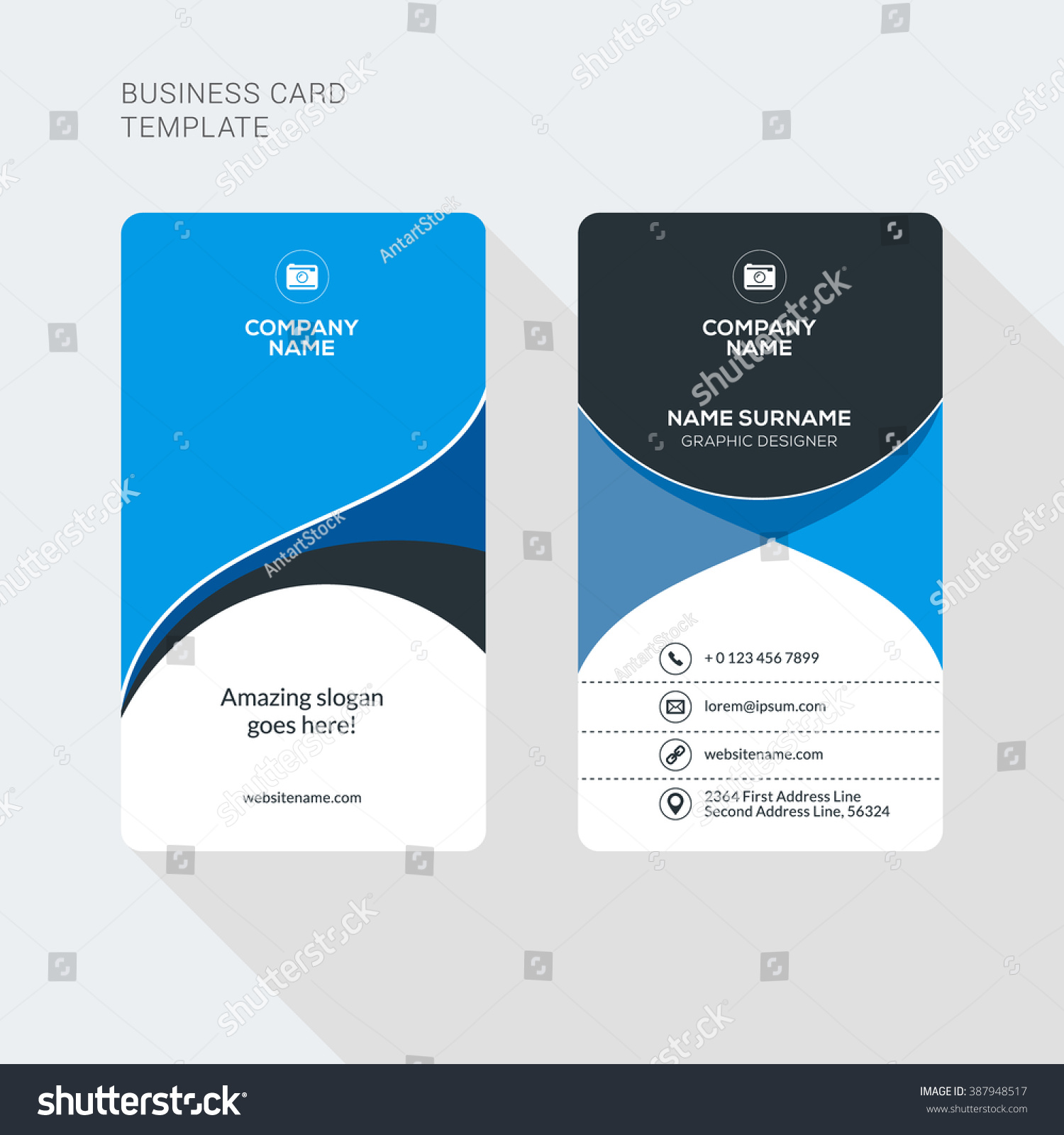Free Word Business Card Template Downloads