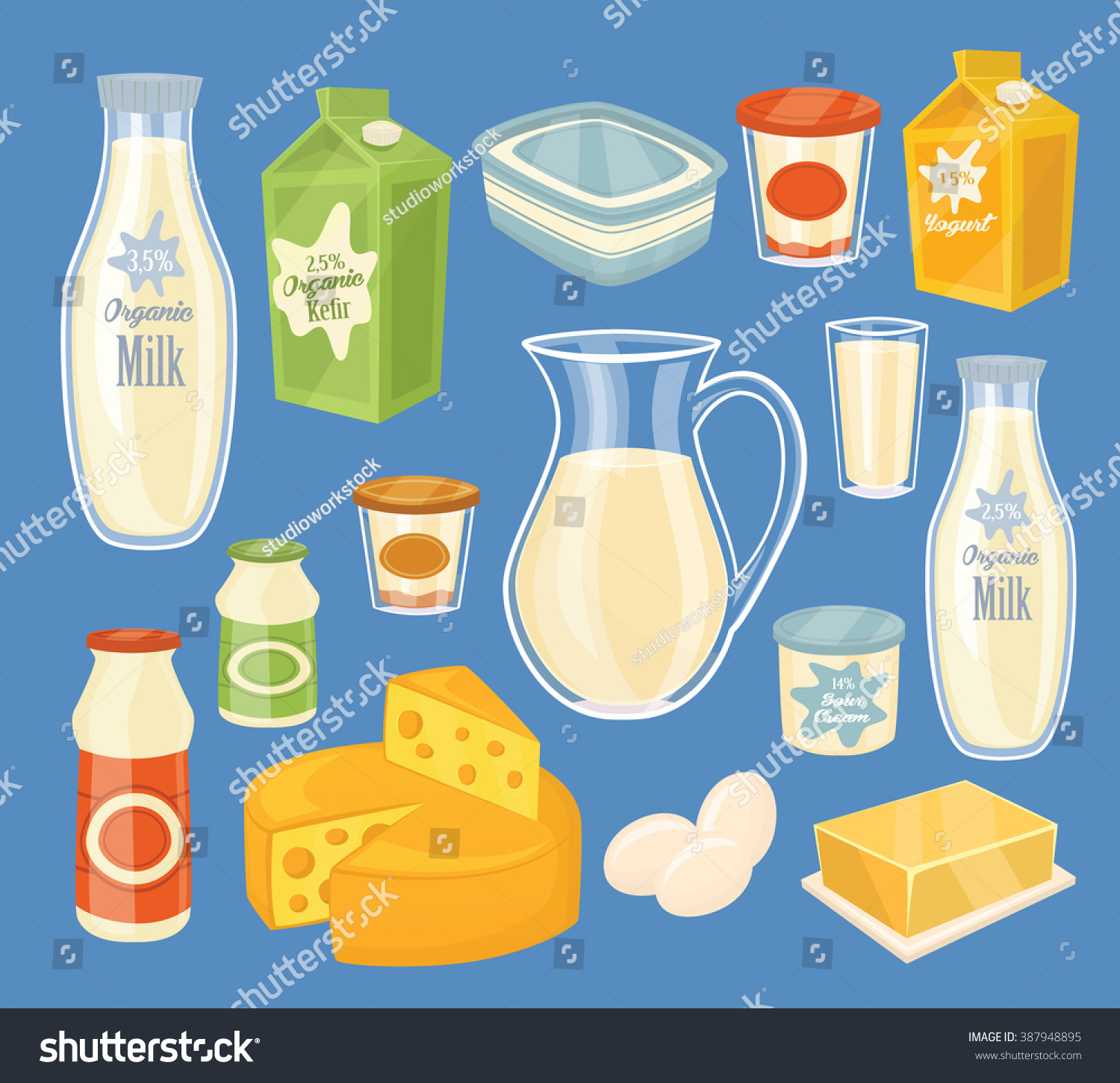 A dairy product
