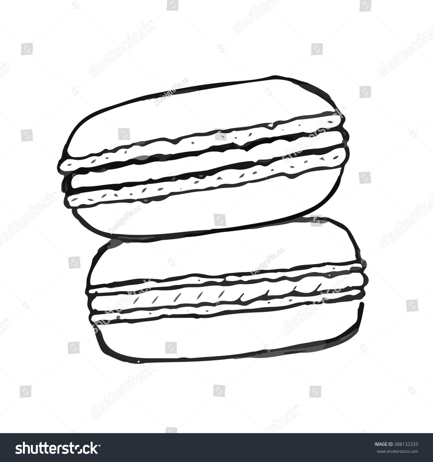 Pics For Gt Macaron Drawing