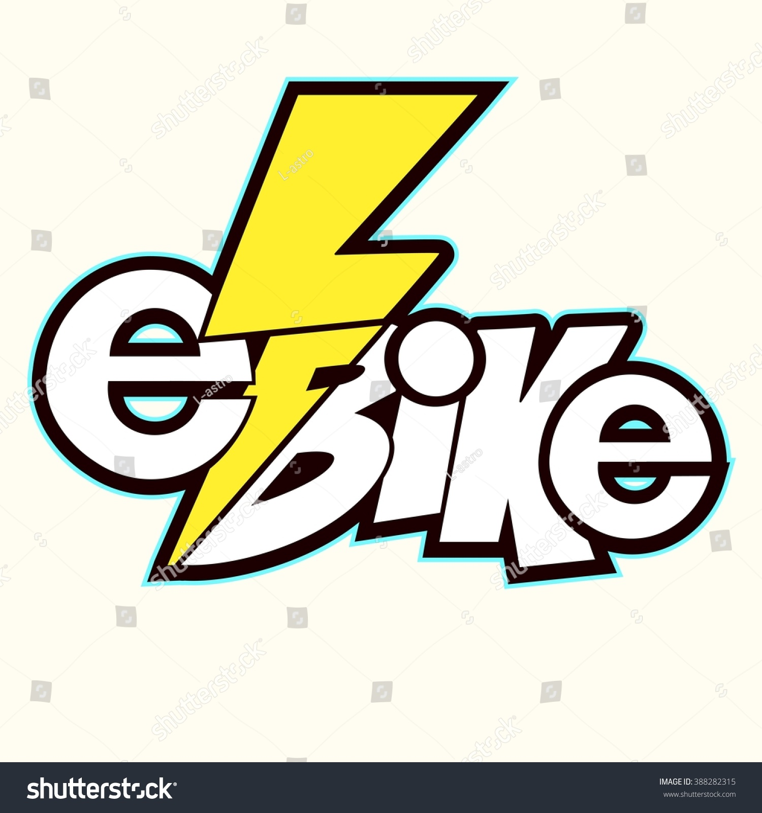 Electric bicycle ebikea great idea your stock vector 388282315 electric bicycle e bikea great idea for your logowell podaydet biocorpaavc Images