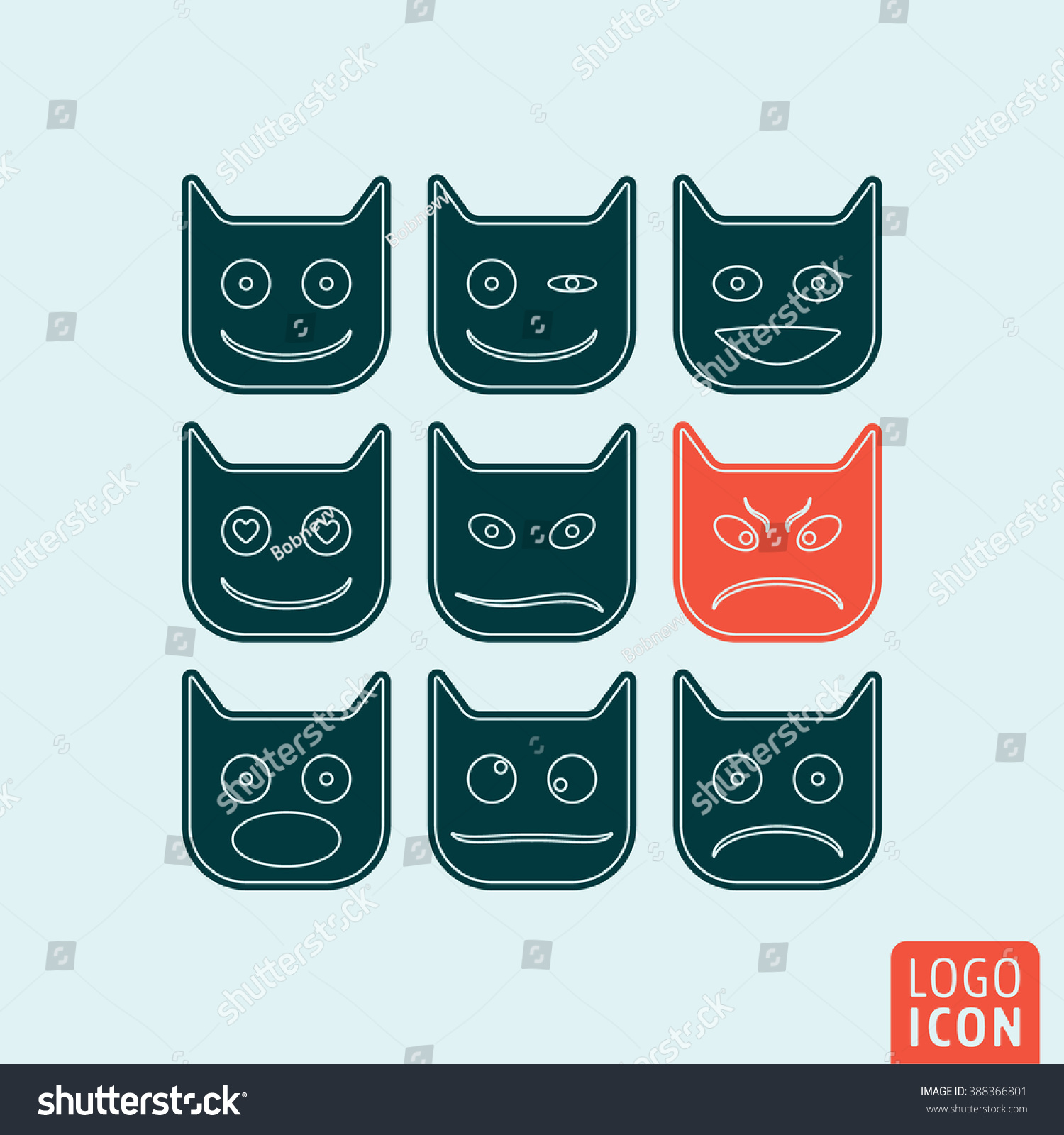 Royalty Free Emoticons Icon Emoticons Symbol Emoji 388366801