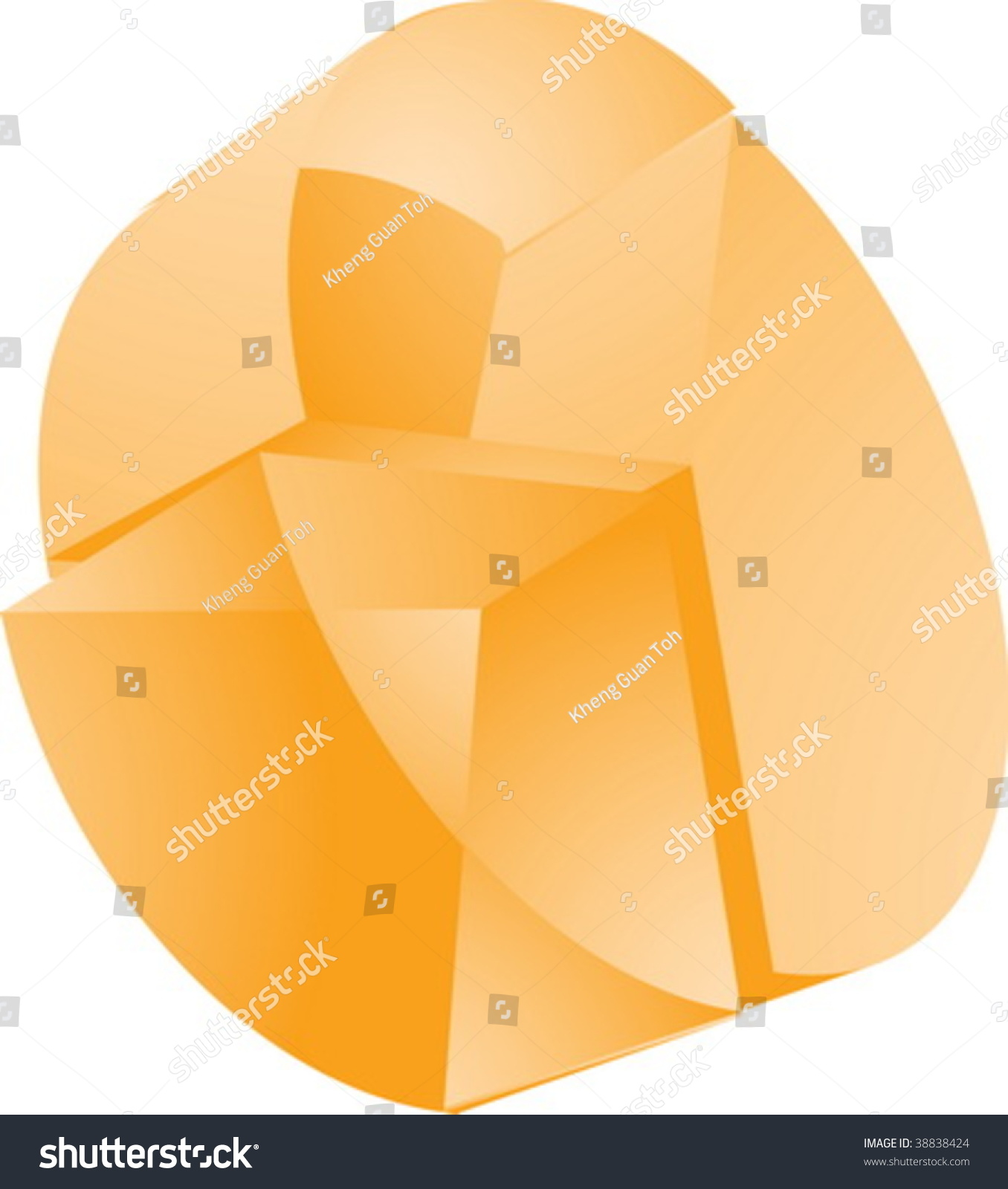 stock vector d translucent pie chart financial diagram illustration 38838424 3 d translucent pie chart financial diagram stock vector 38838424