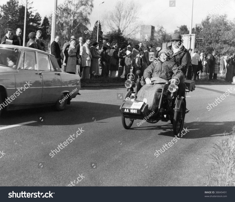 Horley Englandnovember 6 Vintage Vehicle Takes Stock Photo (Royalty ...