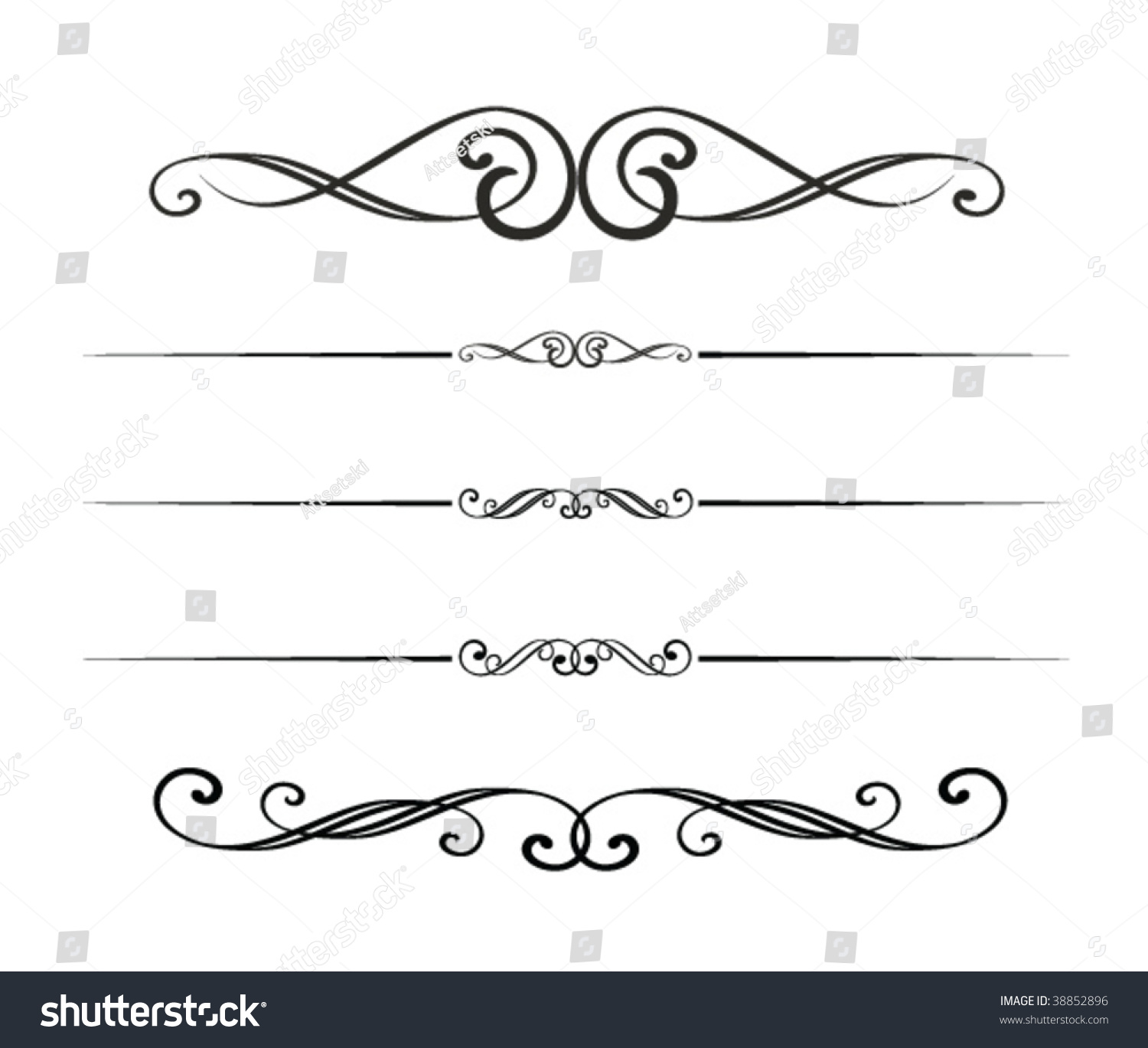 Graphic Design Elements Stock Vector 38852896 - Shutterstock