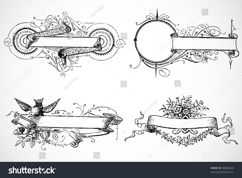 vector decorative frames - Decorative Picture Frames