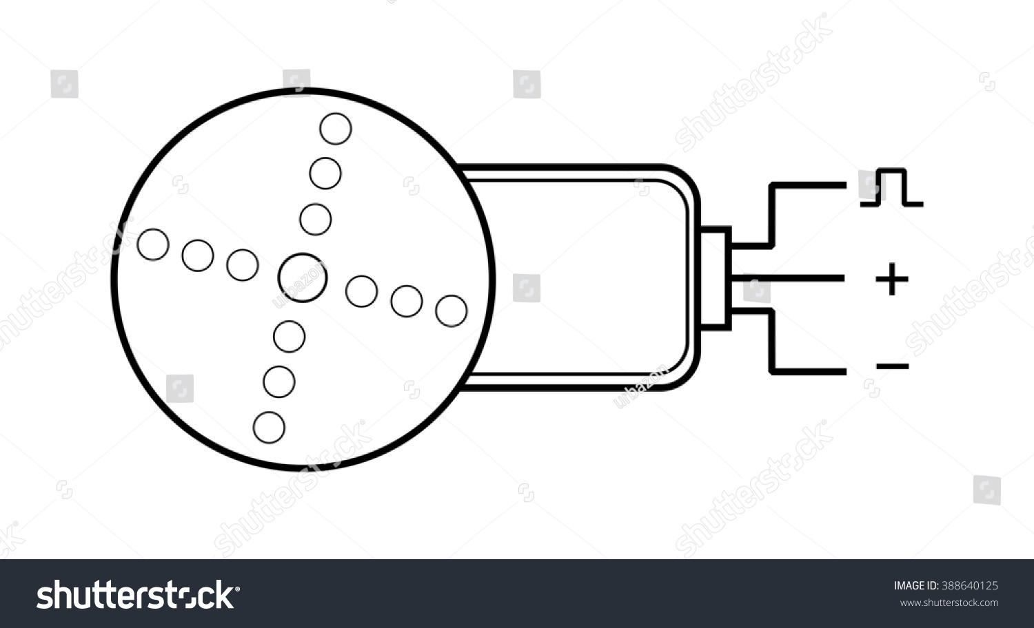Enchanting Switch Symbol Circuit Festooning - Electrical and Wiring ...