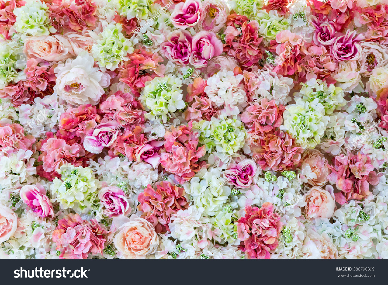 Beautiful Flowers Background For Wedding Scene Ez Canvas