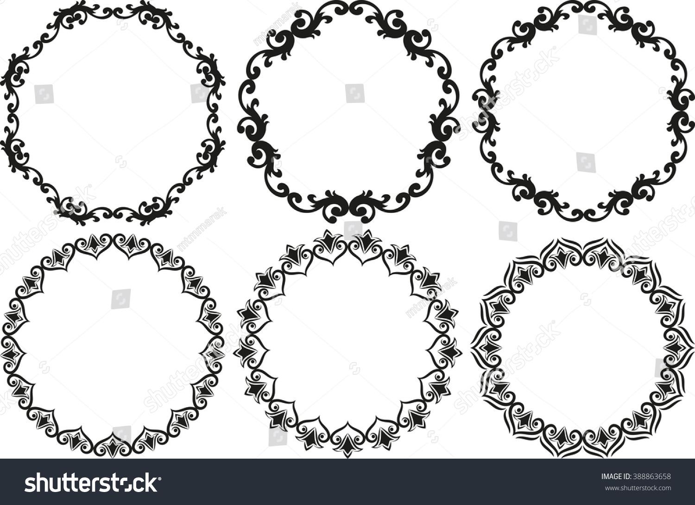 set of decorative decorative frames - Decorative Picture Frames