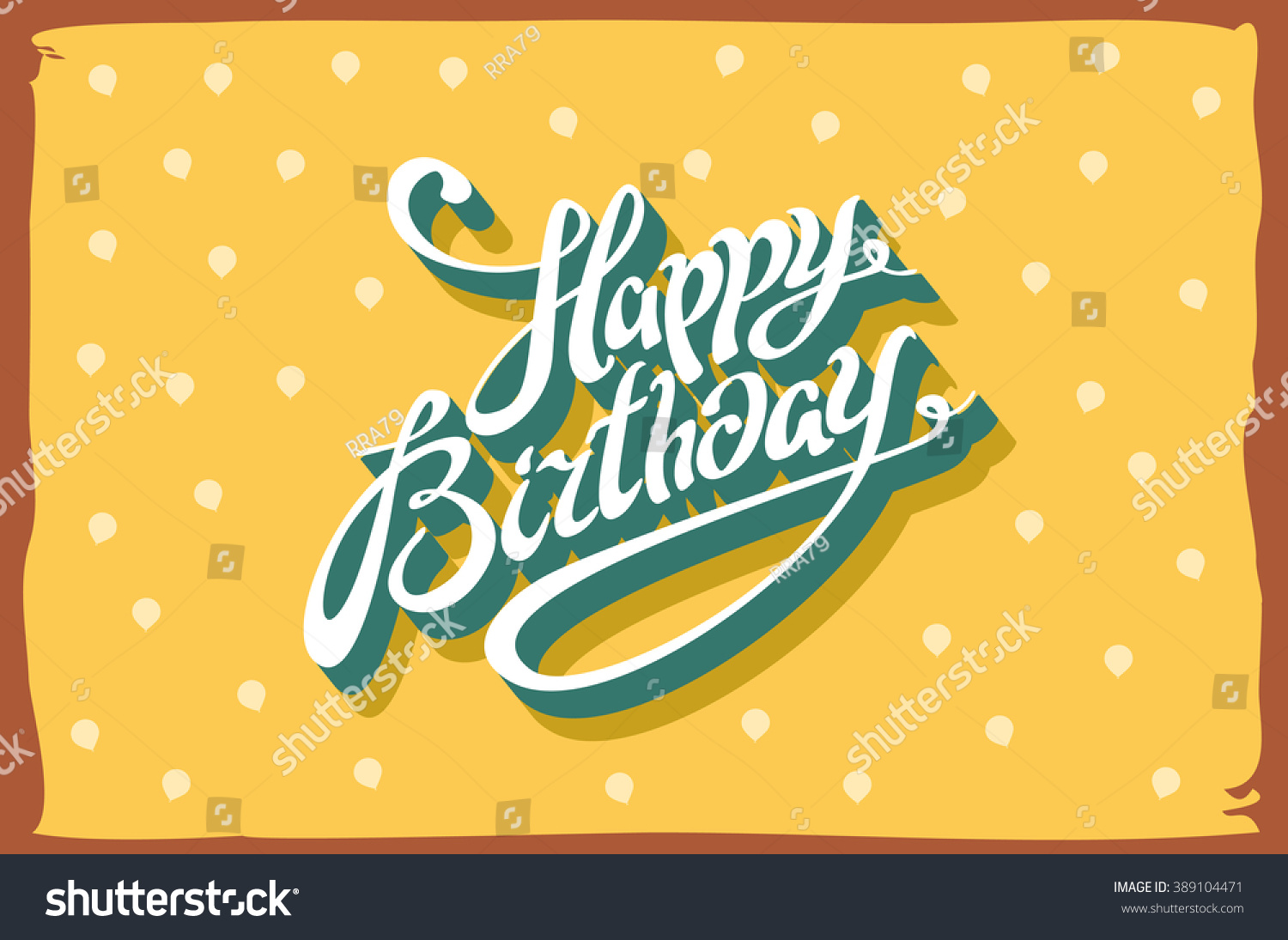 Vintage retro happy birthday card fonts stock vector 2018 vintage retro happy birthday card with fonts grunge frame and chevrons seamless background bookmarktalkfo Choice Image
