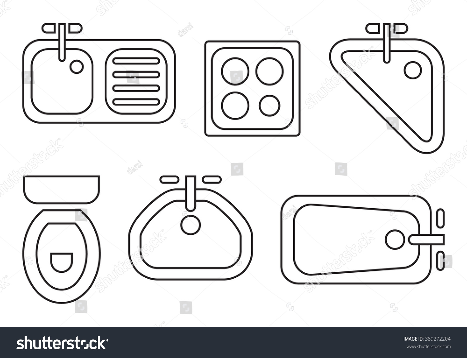 Symbols Used In Floor Plans Standard Bathroom And Kitchen Symbols Used In Architecture