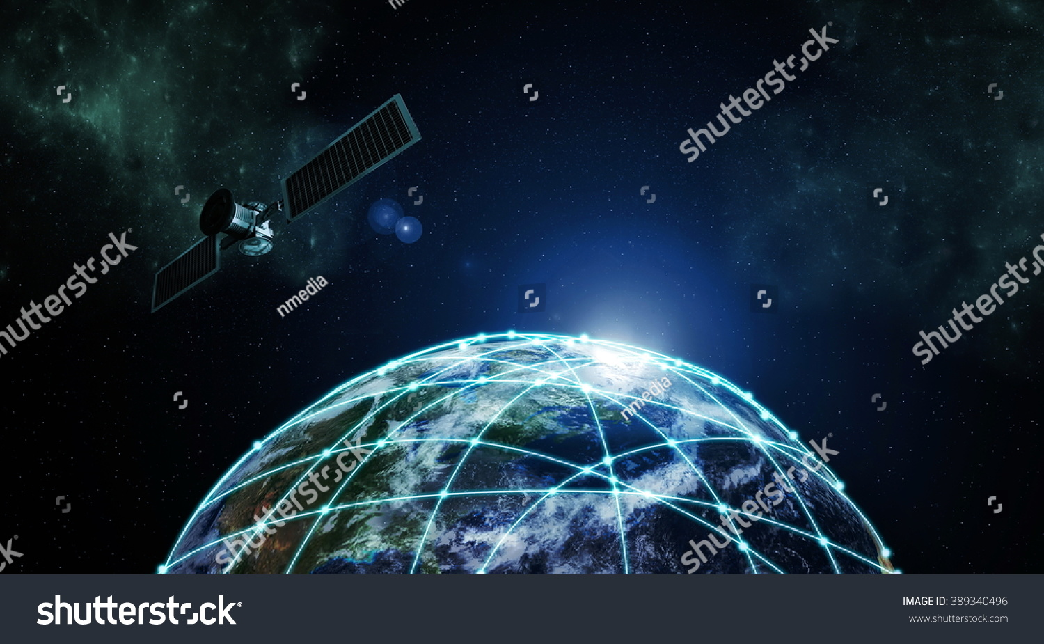 Internet information technology image outer space internet information technology image outer space 389340496 shutterstock voltagebd Image collections