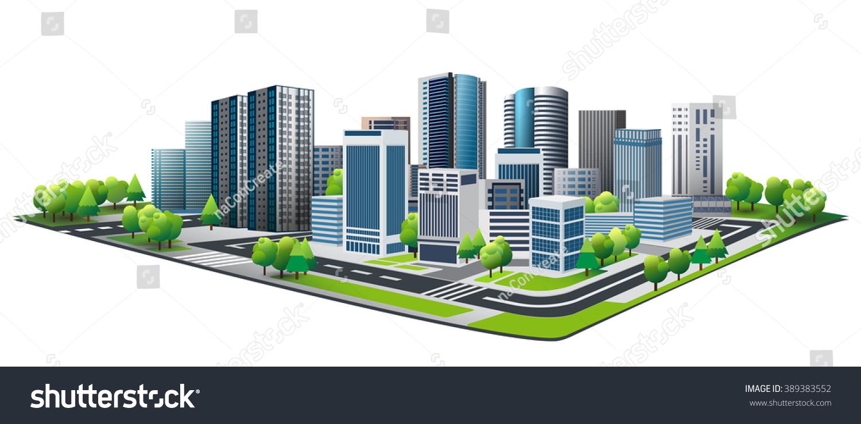 Green city design lifestyle metropolis concept stock for Design in the city