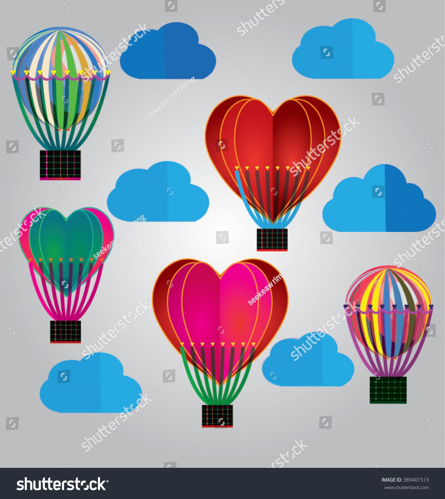 Origami made hot air balloon stock vector 389401513 shutterstock origami made hot air balloon jeuxipadfo Choice Image