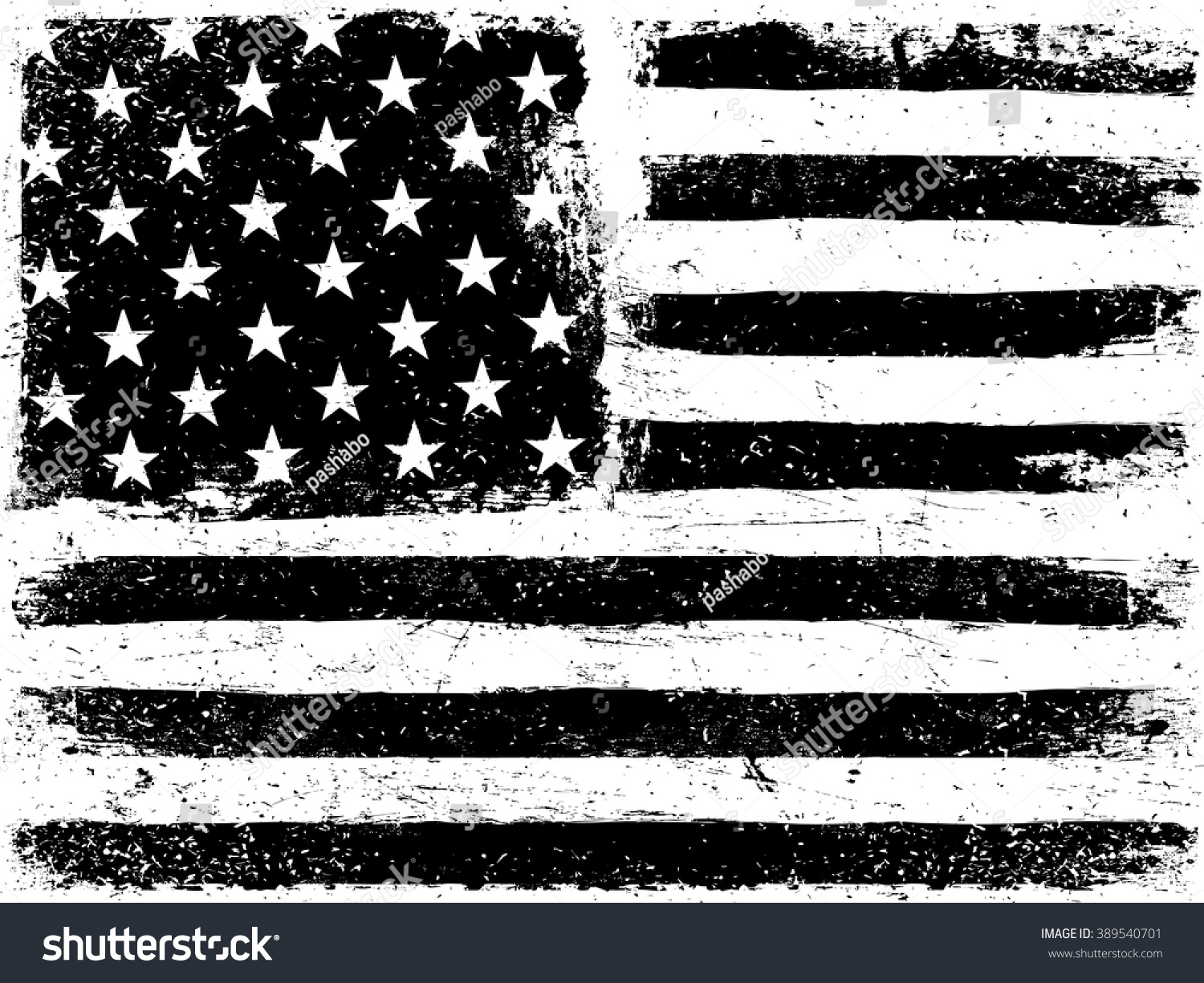 american flag background grunge aged vector stock vector