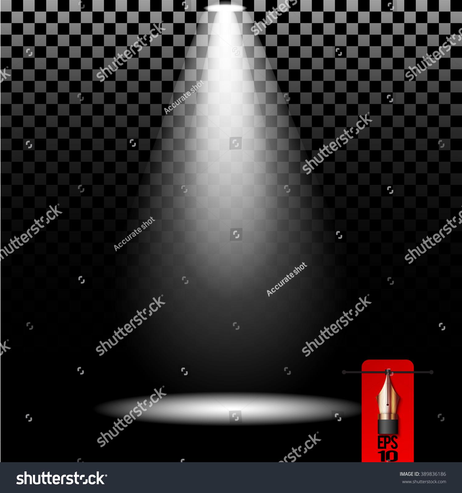 Vector stage spot light. Cold white lighting element & Vector Stage Spot Light Cold White Stock Vector 389836186 ... azcodes.com