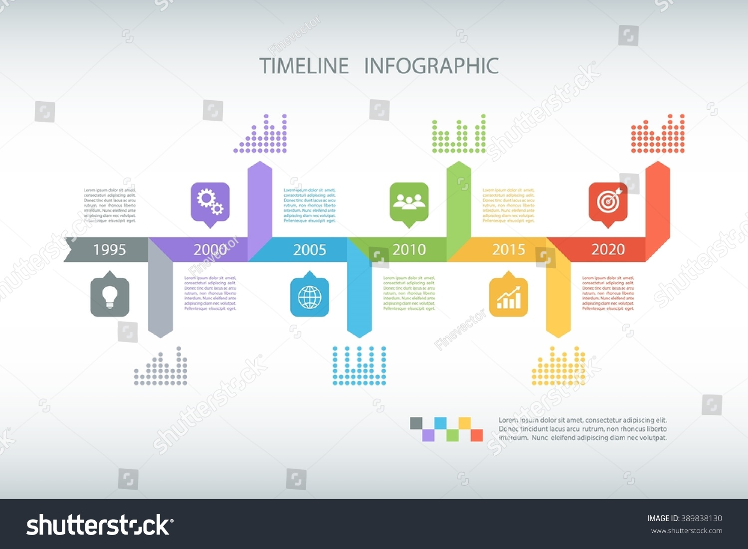 Timeline infographic design template vector illustration em vetor timeline infographic design template vector illustration for workflow layout diagram number options ccuart Choice Image
