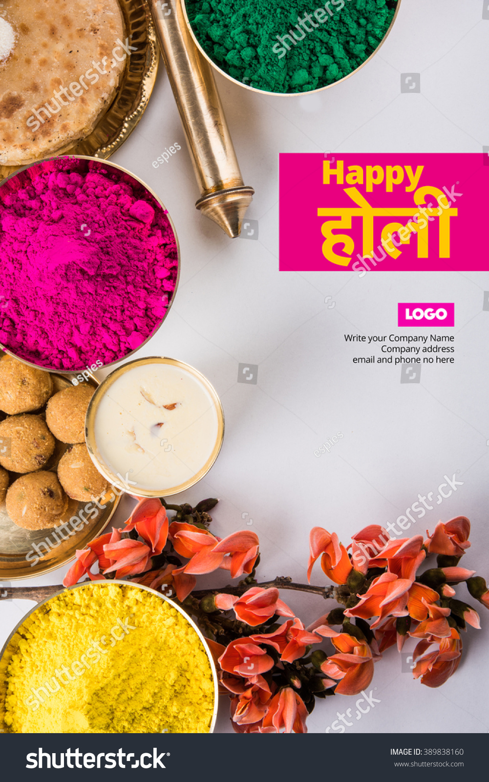 Happy holi greeting card designed showing stock photo royalty free happy holi greeting card designed showing stock photo royalty free 389838160 shutterstock forumfinder Gallery