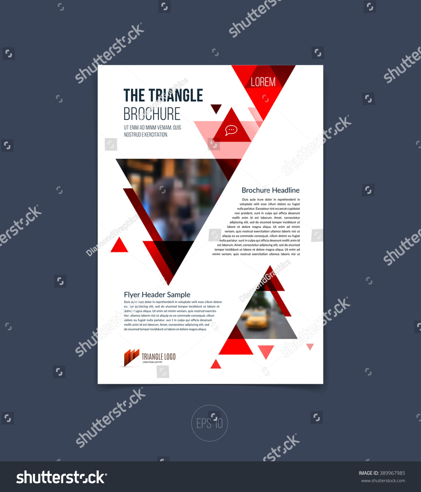 brochure template layout cover design annual のベクター画像素材