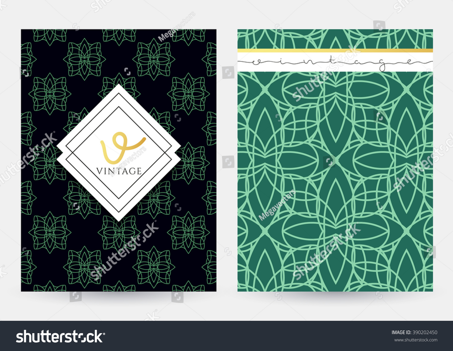 Cover page designs for school projects note book cover page design - Magazine Cover With Geometric Patterns Magazine Page Template Label Template Notebook Abstract For