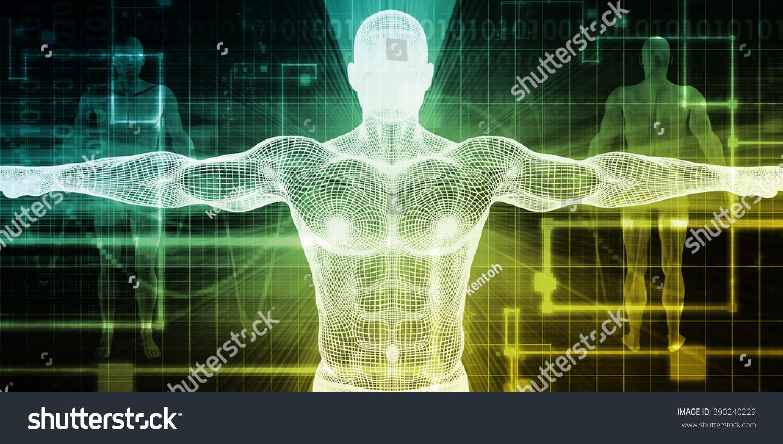 Biomedical Engineering or Biology Medical Bioligcal Concept
