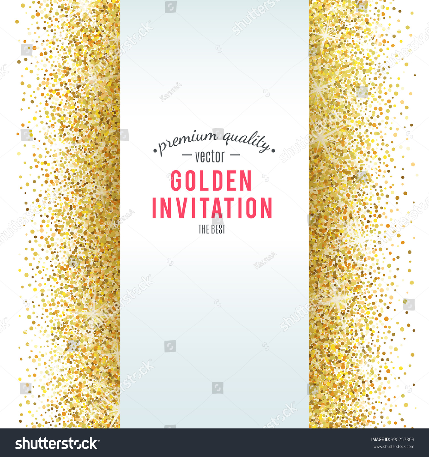 Gold glitter bright vector transparent background golden sparkles - Gold Glitter Texture Isolated On White Background Vector Illustration For Golden Shimmer Background Sparkle