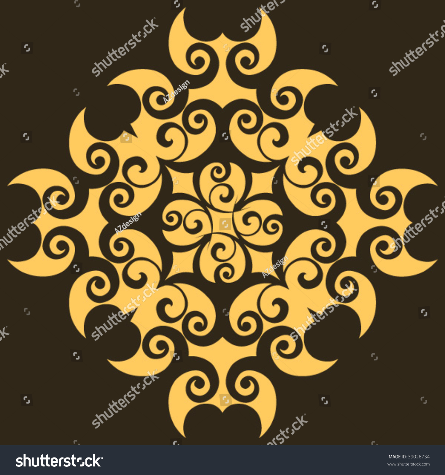 Baroque design element vector decoration stock vector for Baroque design elements