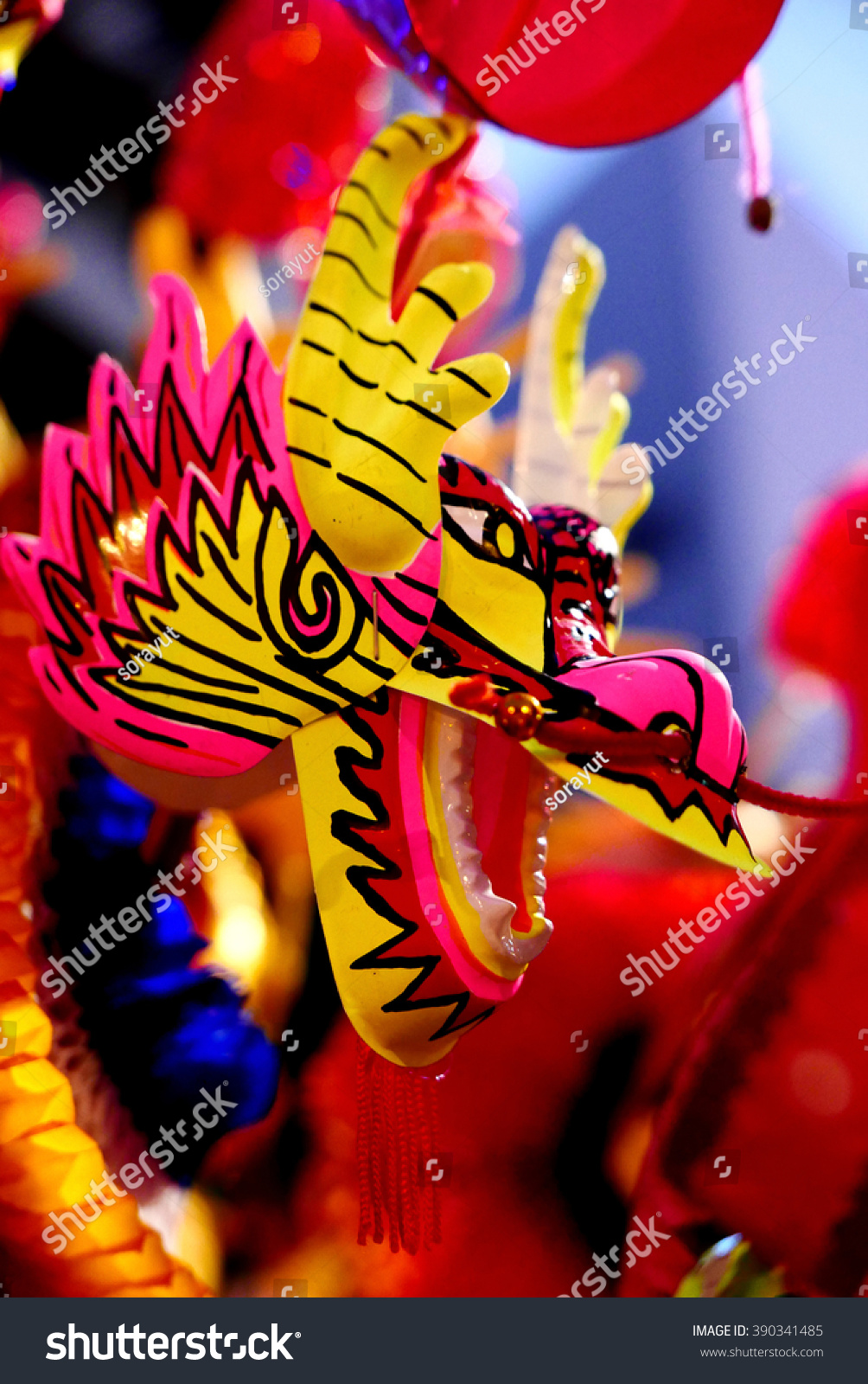 Toys For Chinese New Year : Chinese new year decoration dragon toy stock photo