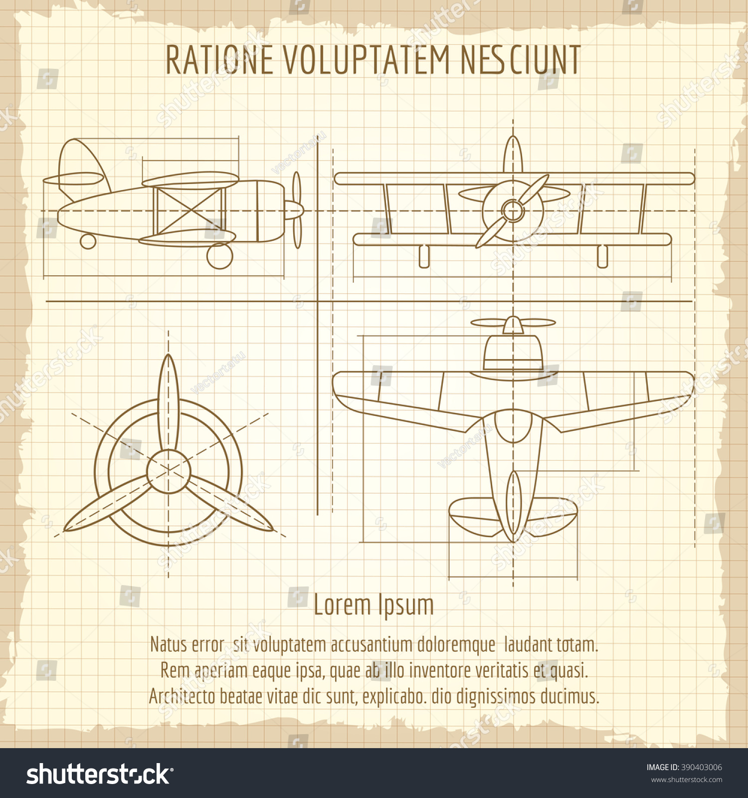 Aircraft retro drawing plane vintage blueprint vectores en stock aircraft retro drawing plane vintage blueprint vector illustration malvernweather Image collections