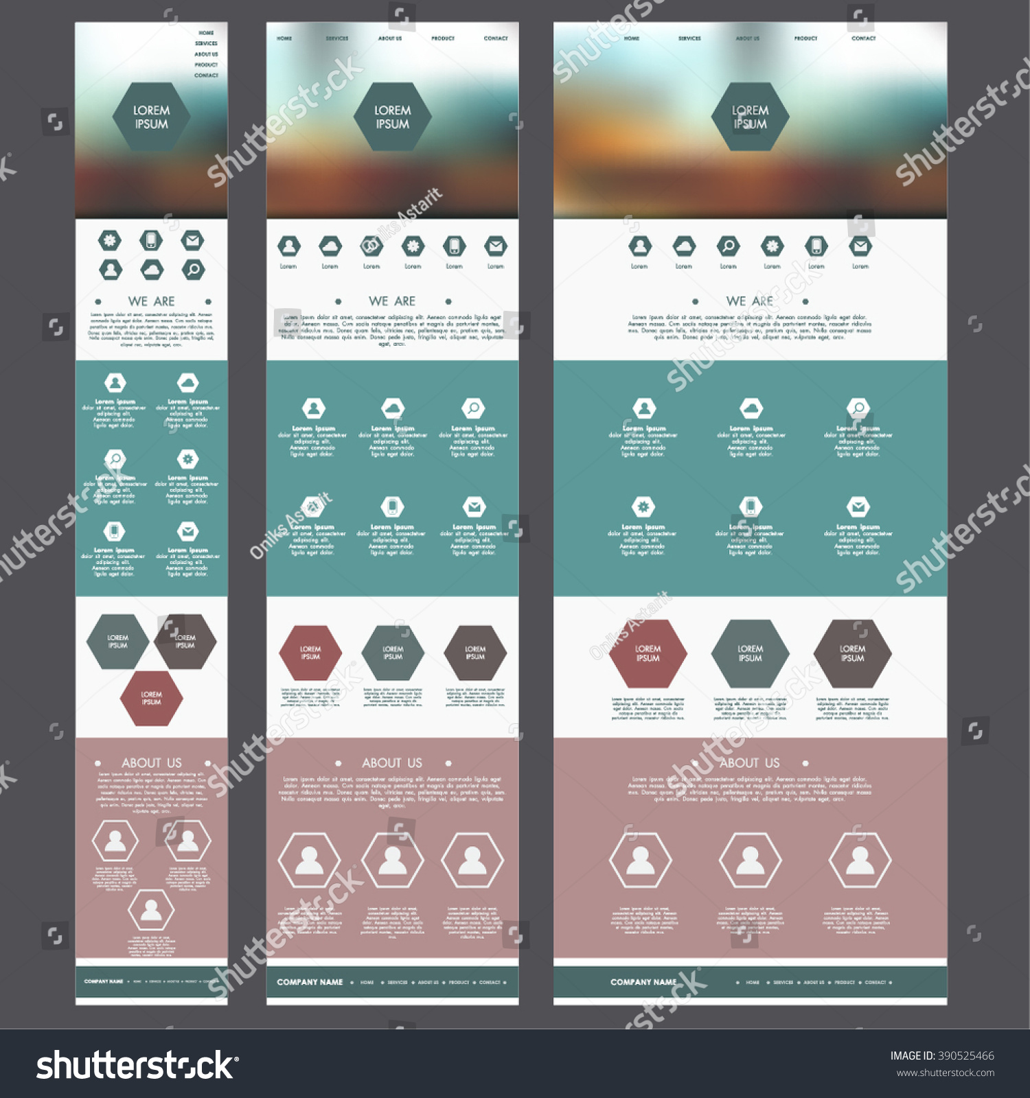 Mobile Page Template. drag mobile mobile template by enabled ...