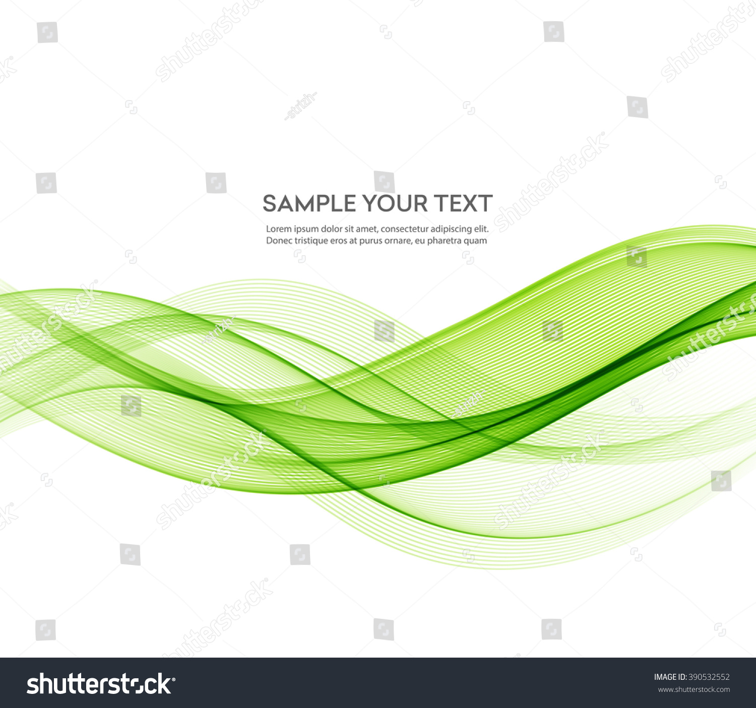 wavy green background vector - photo #44