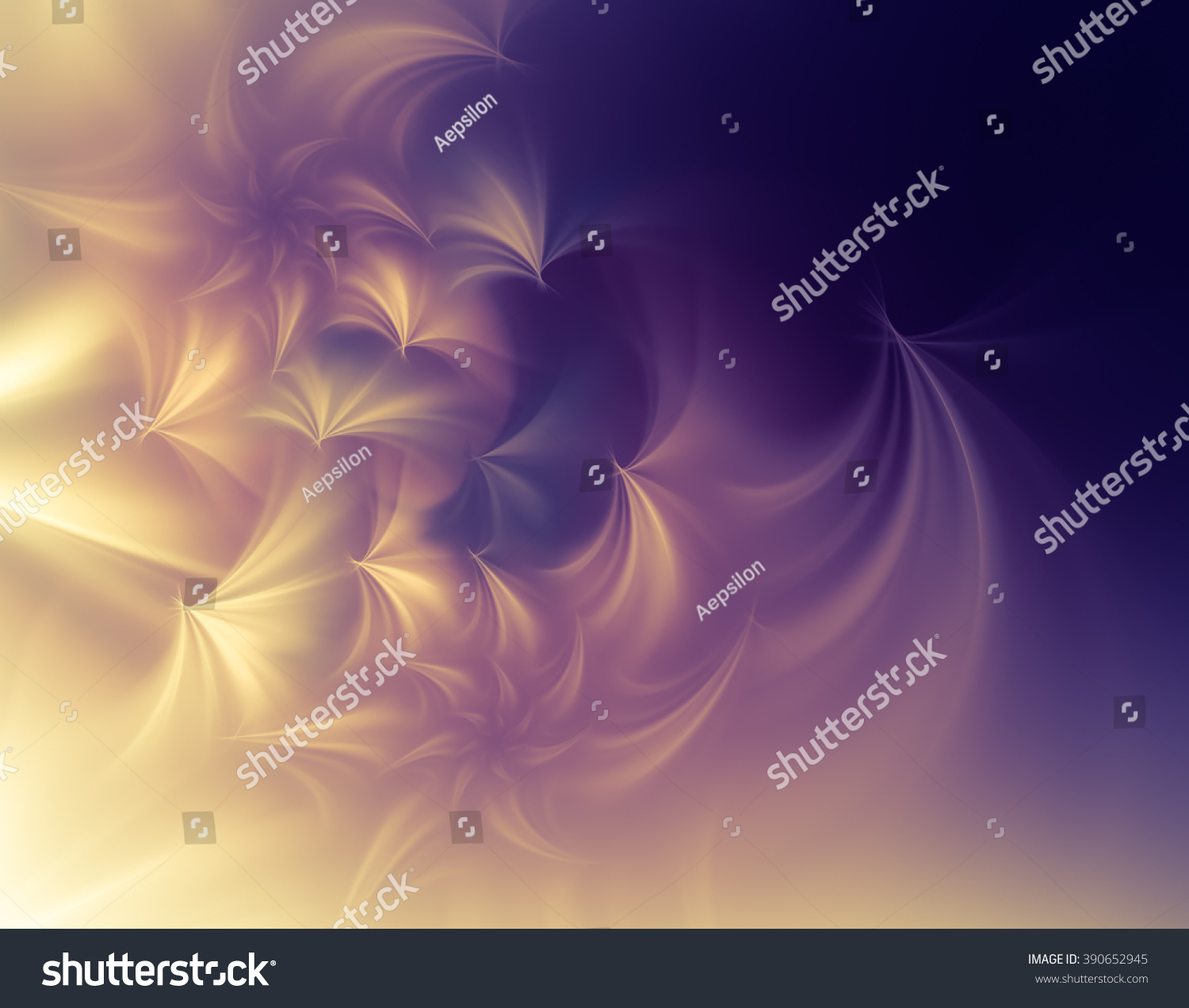 Pastel Abstract Background In Purple And Gold Tones Stock ...