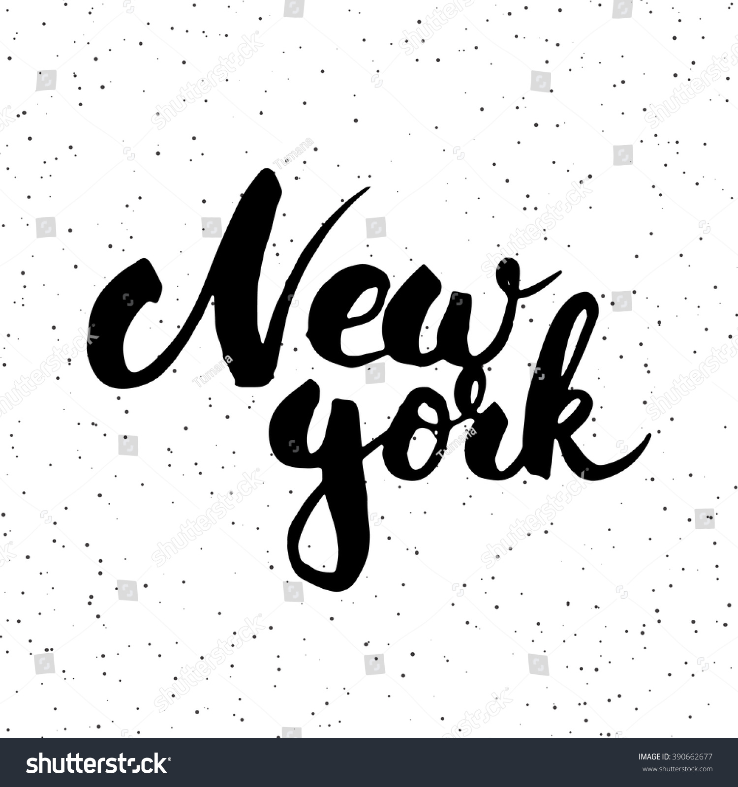 Hand drawn typography lettering phrase new stock vector