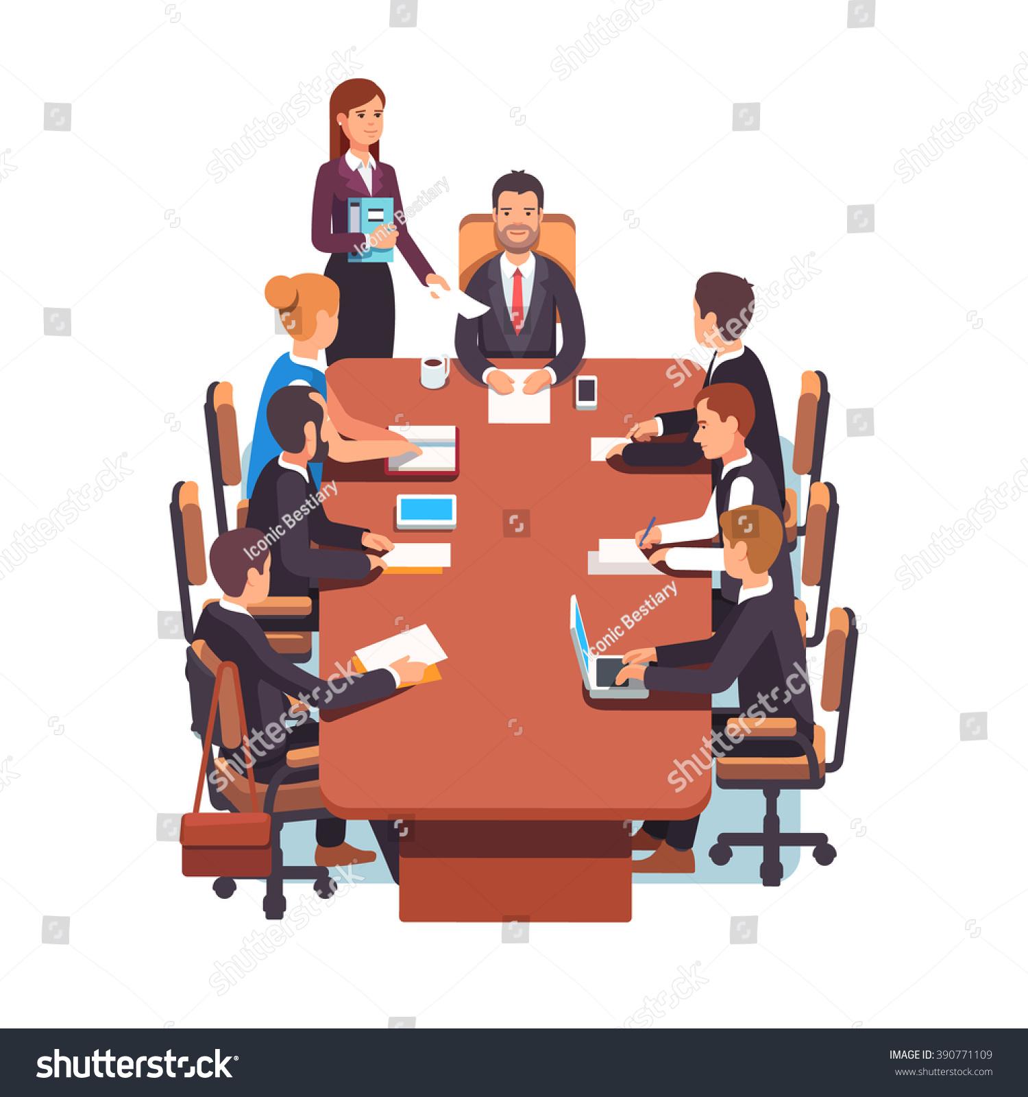Board Room Executives Cartood