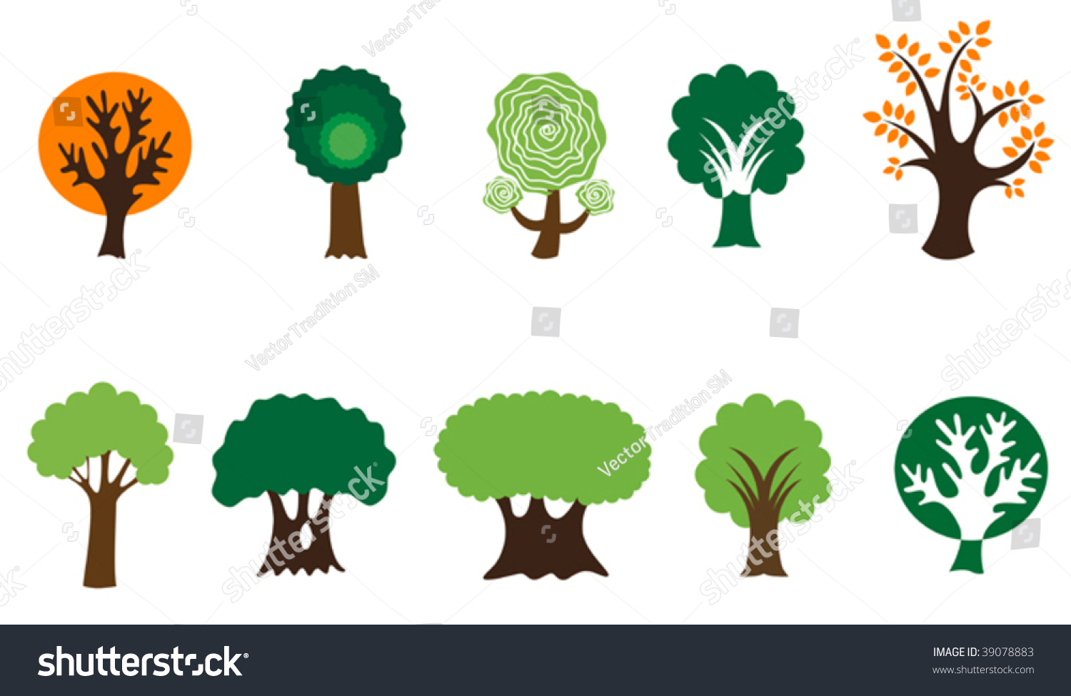 Tree Symbols For Emblems Jpeg Version Also Available In